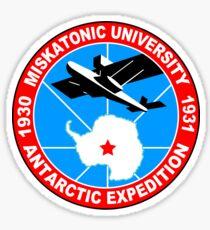 Miskatonic university antarctic expedition Funny Geek Nerd Sticker