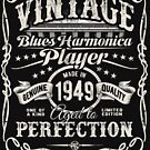 Adam Gussow's Vintage Blues Harmonica Player Made in 1949 by HNA Media
