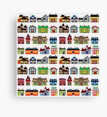 Real Estate in Suburbia Canvas Print