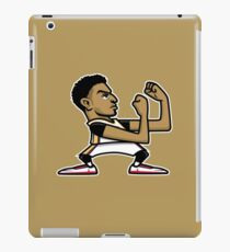 Fighting Brow iPad Case/Skin