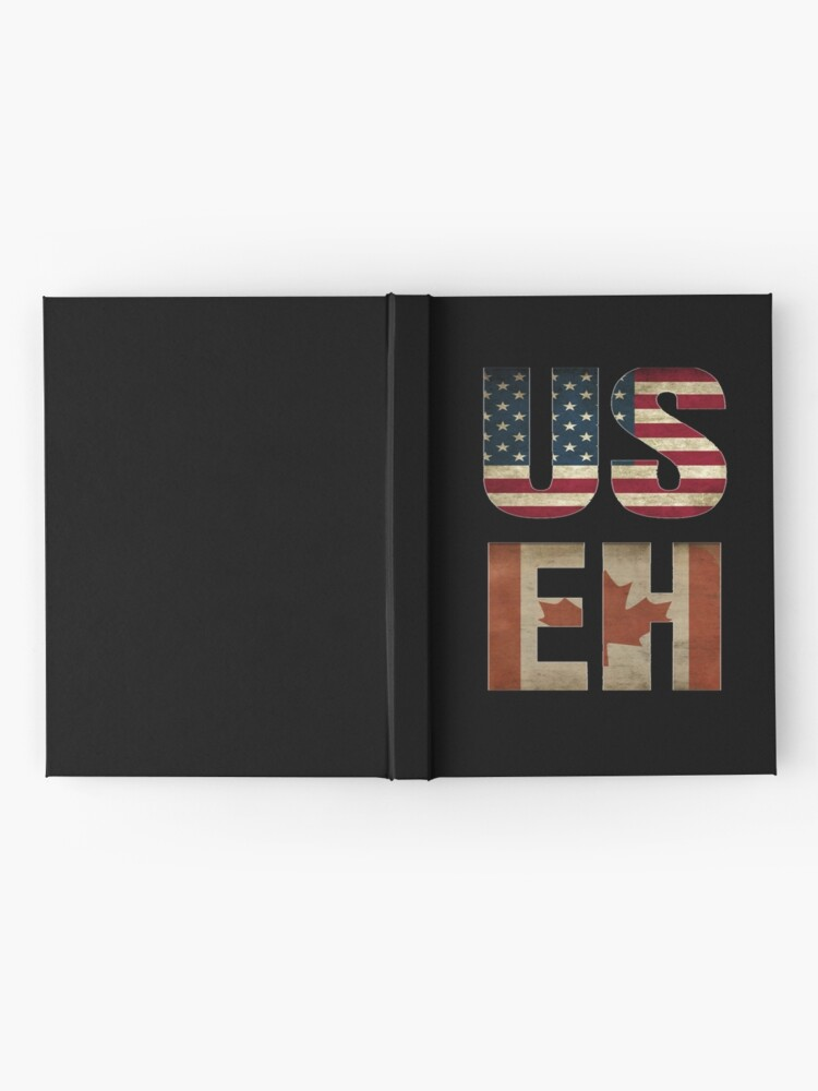 Alternate view of USA Canada Allies Hardcover Journal