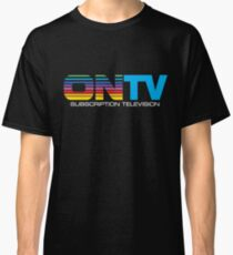 ON TV Subscription Television Tshirt Defunct TV Service Classic T-Shirt