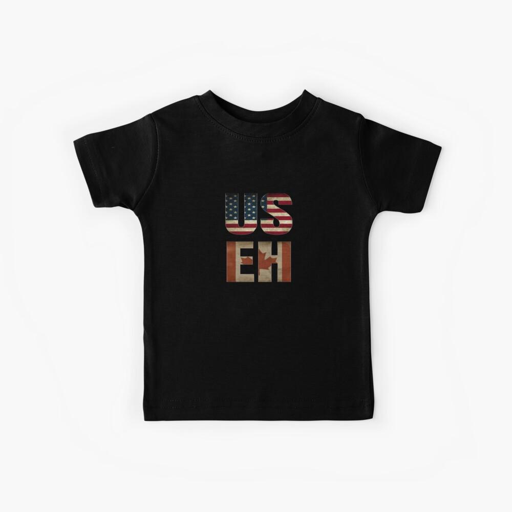 USA Canada Allies Kids T-Shirt