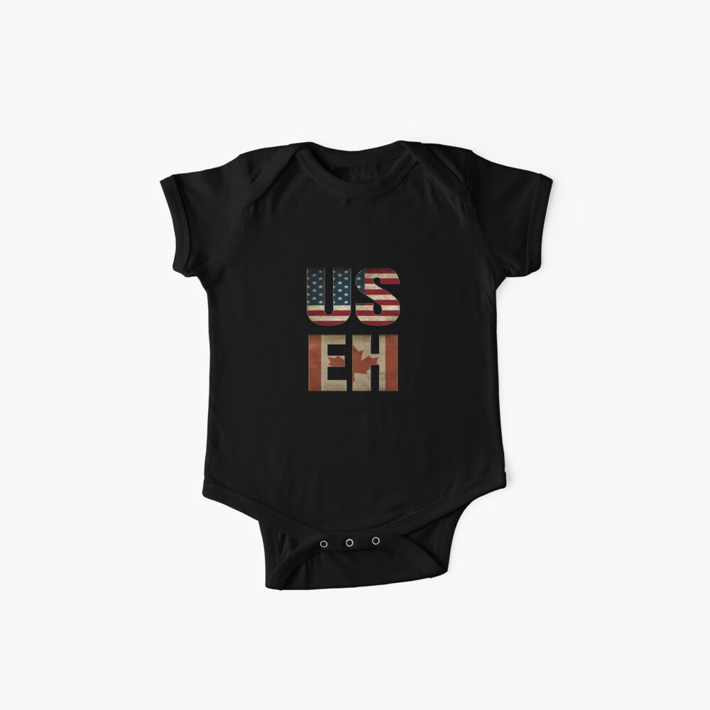 USA Canada Allies Baby One-Piece