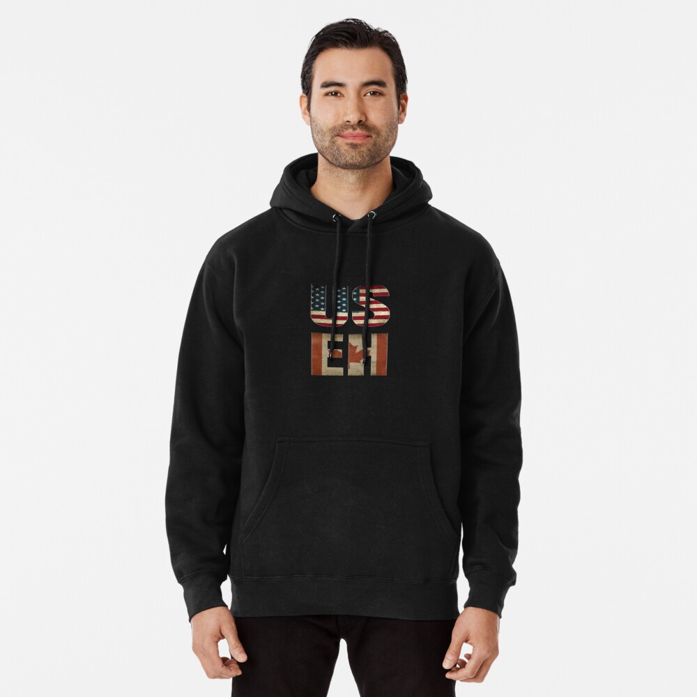 USA Canada Allies Pullover Hoodie
