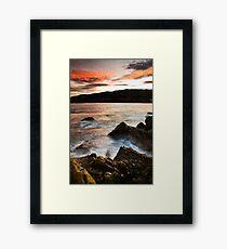 Dusk Light - Jervis Bay Framed Print