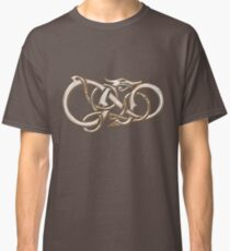 Viking Dragon in metal Classic T-Shirt