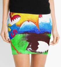 Super Bird Mini Skirt