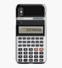 Awesome Fake CASIO Vintage calculator iPhone Case