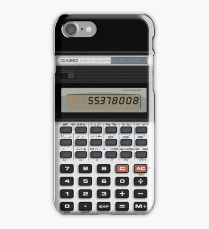 Retro Casio Calculator iPhone Case