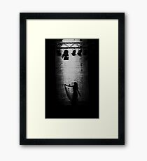 Suspended in Gaffa Framed Print