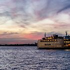 Red Sky Ferry by ShootFirstNYC