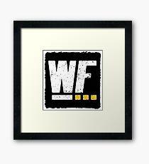 Wrestling For ... Logo Framed Print