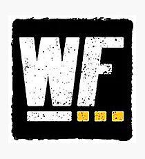 Wrestling For ... Logo Photographic Print