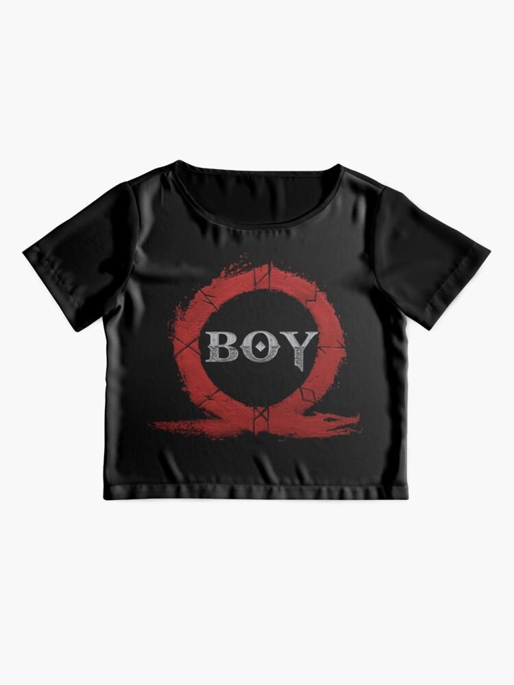 Alternate view of BOY : God of War Chiffon Top