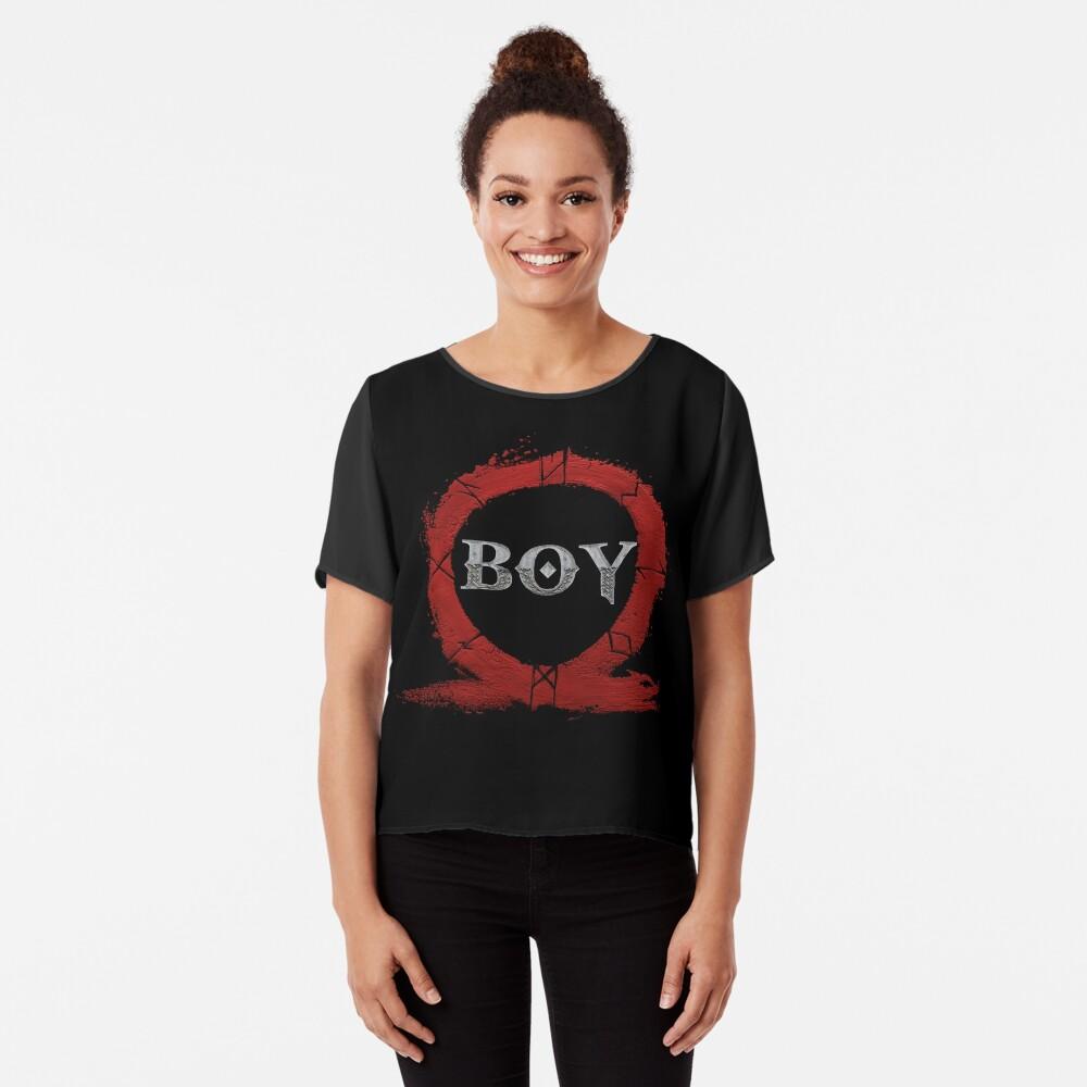 BOY : God of War Chiffon Top