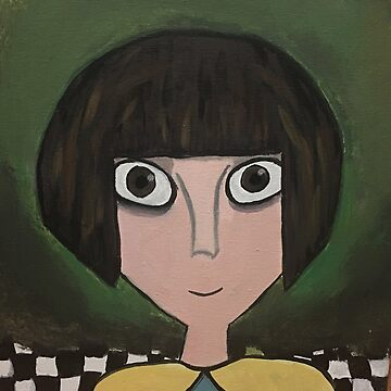 Fran Bow painted portrait prints  by RoyalyReagan