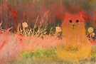 orange Kätzchen von Marianna Tankelevich