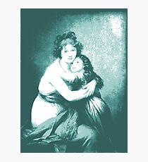 Blue Le Brun Photographic Print