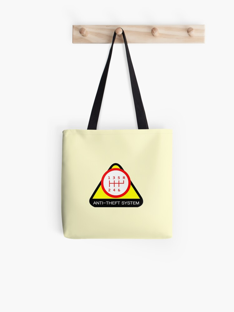 Anti-Theft System (Pattern 4) (light) | Tote Bag