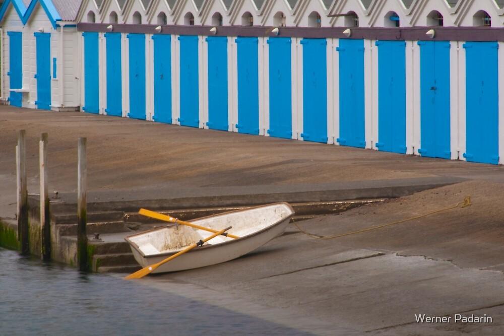 Boatsheds 2 by Werner Padarin