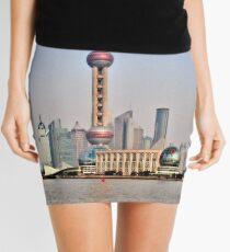 Shanghai View Mini Skirt