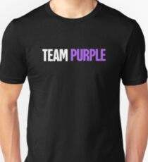 a40b0d293 Team - Gift For Alzheimer's Disease Awareness Slim Fit T-Shirt