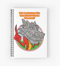 Great Stone Dragon Spiral Notebook
