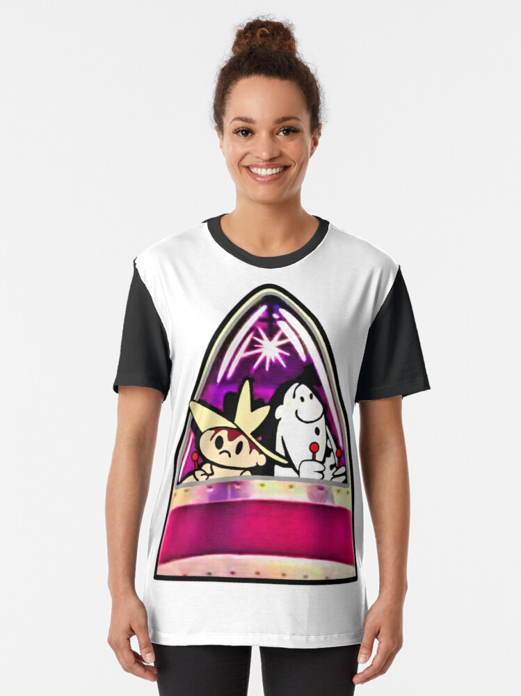 Alternate view of Ready for Blast-Off, Scratch & Squeak  Graphic T-Shirt