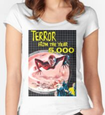 TERROR FROM THE YEAR 5000 Women's Fitted Scoop T-Shirt