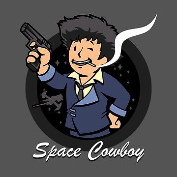 Space Cowboy by BoggsNicolasArt