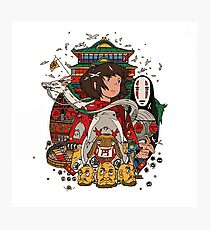 Studio Ghibli - Spirited Away Photographic Print