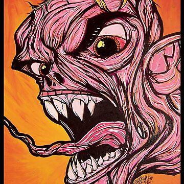 Pinky - Original Art Print by Arek619