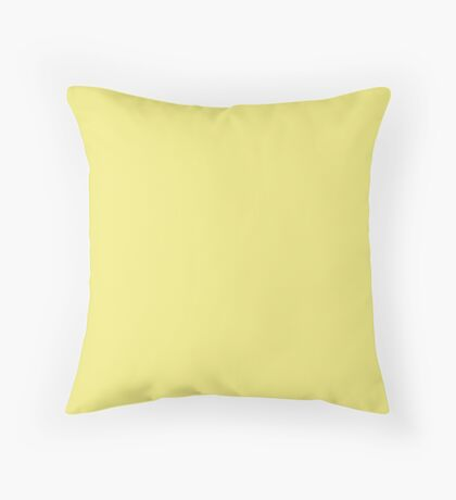 Limelight | Pantone Fashion Color | Fall : Winter 2018 | New York and London | Solid Color Throw Pillow