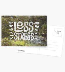 Less Stress Postcards