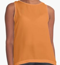 Russet Orange | Pantone Fashion Color | Fall : Winter 2018 | New York and London | Solid Color Contrast Tank