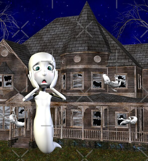 Haunted House .. a ghosts tale by LoneAngel
