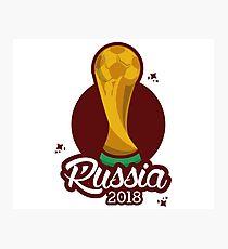 Copa Del Mundo 2018 Dibujo Láminas Fotográficas Redbubble