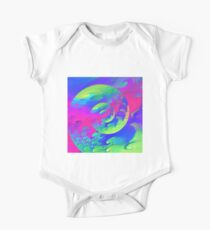 Abstract atmospheric wave One Piece - Short Sleeve