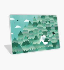 Tree Hugger (Frühlings- und Sommerversion) Laptop Folie