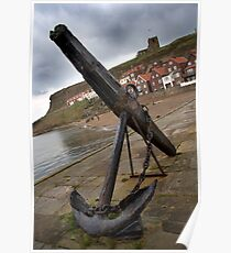 Whitby Anchor  Poster