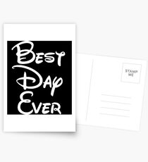 Best Day Ever Postcards