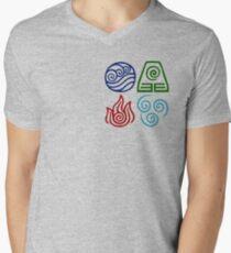 Avatar Four Elements Square T-Shirt