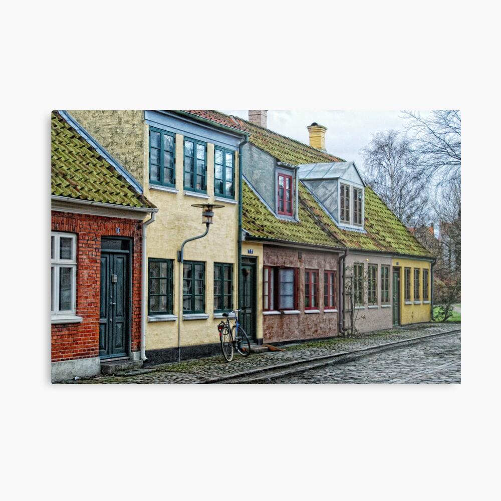 Odense Houses Metal Print