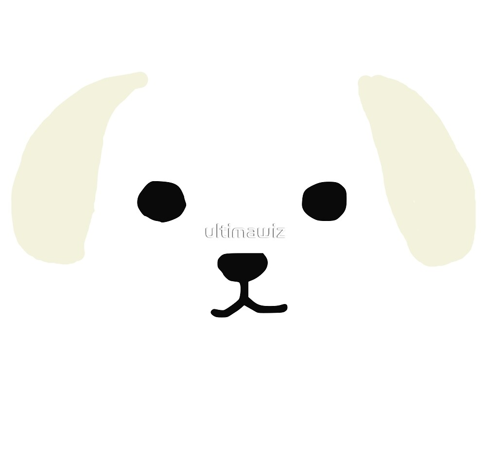 dog face by ultimawiz