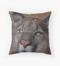 Silent Warrior Throw Pillow