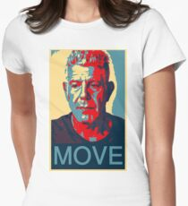 Anthony Bourdain famous chef quote  Women's Fitted T-Shirt