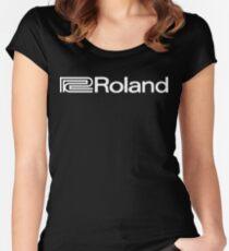 Roland Vintage Funny Geek Nerd Women's Fitted Scoop T-Shirt