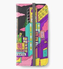 Liquid neon iPhone Wallet/Case/Skin