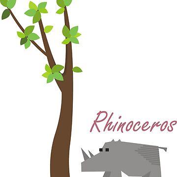 Rhenoceros by fafaisalabdau19